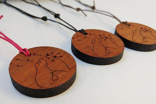 Reclaimed Wooden Pendant