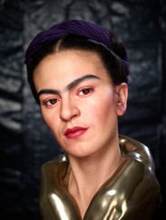 Portrait of Frida Kahlo by Kazuhiro Tsuji