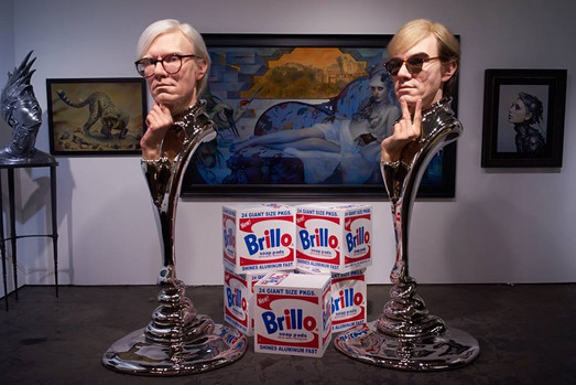 Portrait of Andy Warhol by Kazuhiro Tsuji