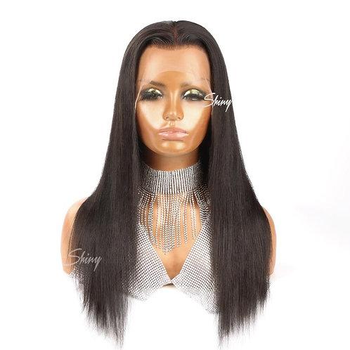 4x4 Closure Wig Transparent  Uncustomized Straight
