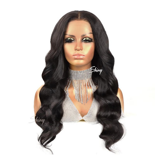 4x4 Closure Wig Transparent  Uncustomized Bodywave