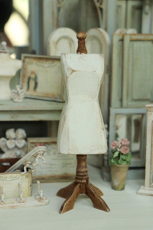 White Dress Form