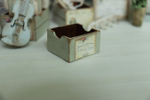 Small Green Garden Crate