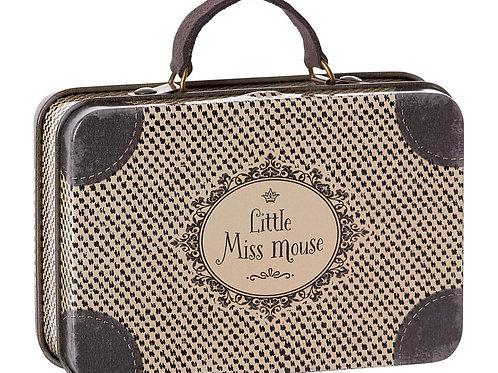 Metal suitcase Little Miss Mouse