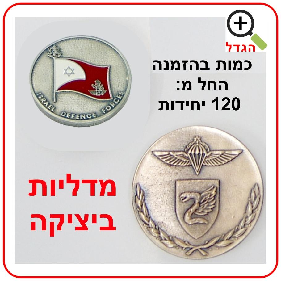 מדליות ביציקה