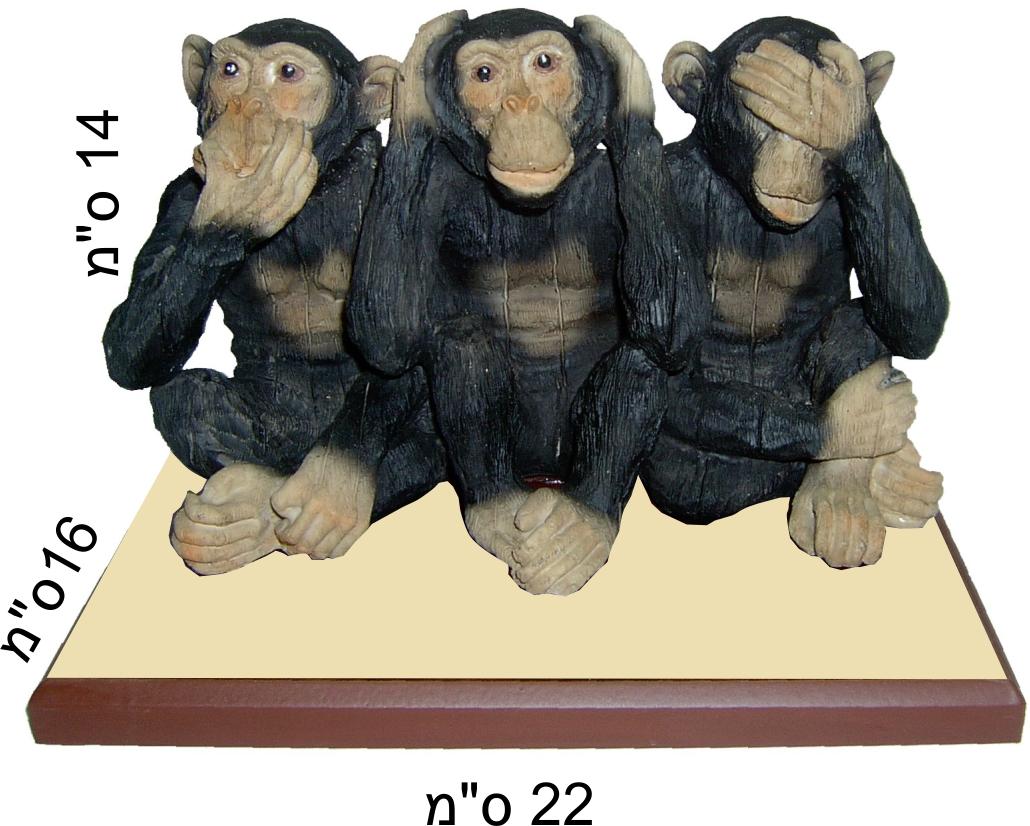 קופים לא רואה לא שומע לא מדבר