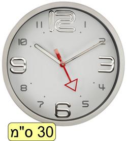 שעון סגור מחוג שניות אדום