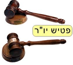 פטיש יושב ראש ושופט