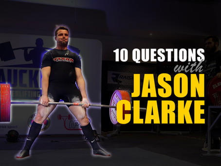 10 Questions with Jason Clarke