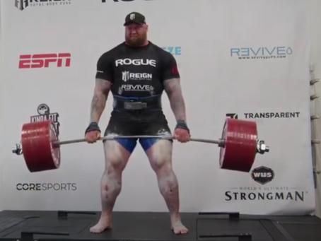 The 501kg Deadlift | Strongman vs Powerlifting