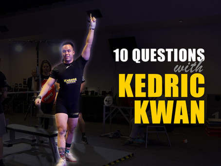 10 Questions with Kedric Kwan