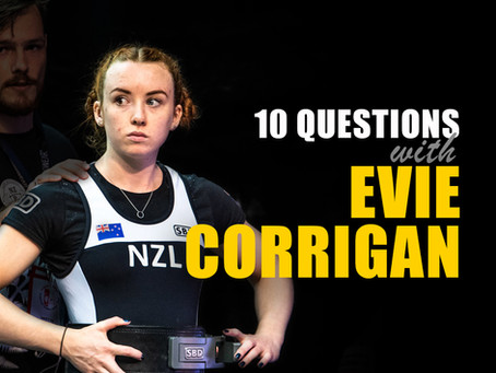 10 Questions with Evie Corrigan