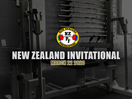 Your guide to the New Zealand Invitational Powerlifting Competition