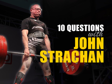 10 Questions with John Strachan