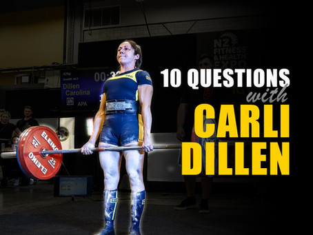 10 Questions with Carli Dillen