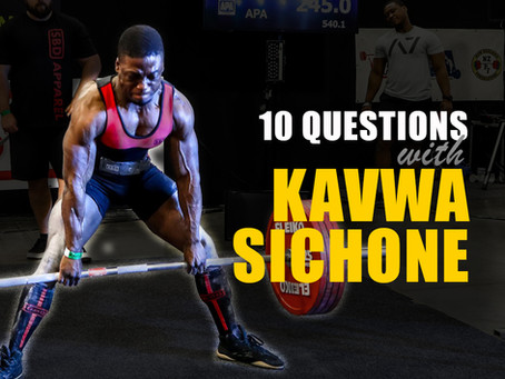 10 Questions with Kavwa Sichone