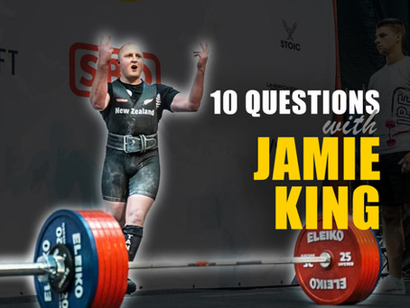 10 Questions with Jamie King