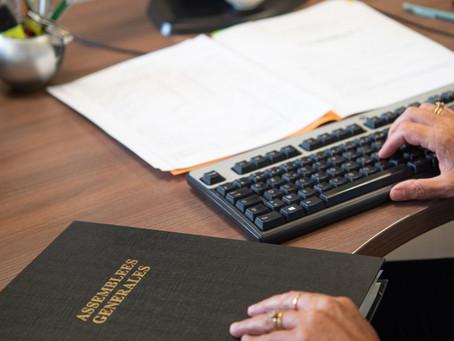 Report accordé pour votre dépôt des comptes annuels