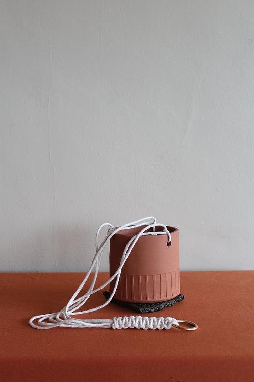 hanging terracotta plant pot