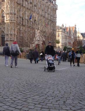 Voetgangersonderzoek Leuven