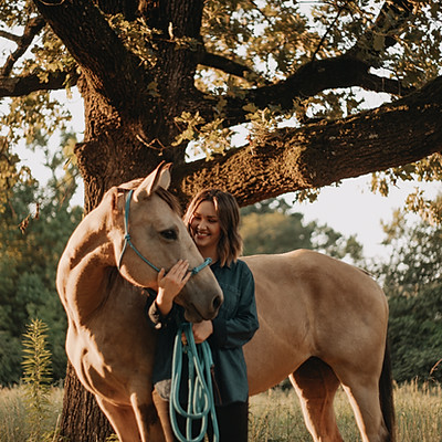 Jamie   Horse & Girl