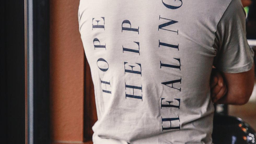 Hope, Help, Healing Tee