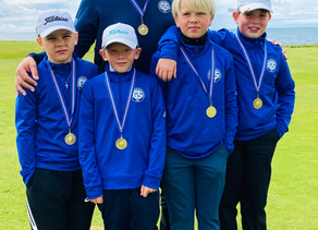 Sveit GS í 3. sæti í Íslandsmóti golfklúbba 12 ára og yngri