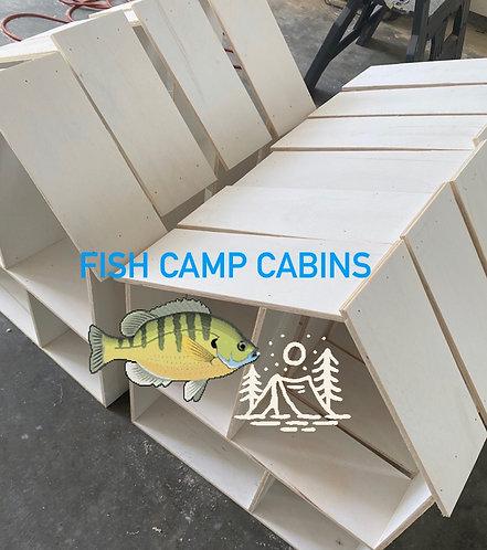 Fish Camp Cabins  JUNE 21, 22, 23