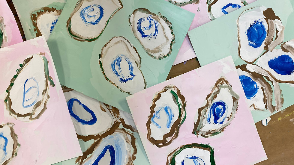 Open Studio Day Camp - Oysters are Awesome JUNE 24