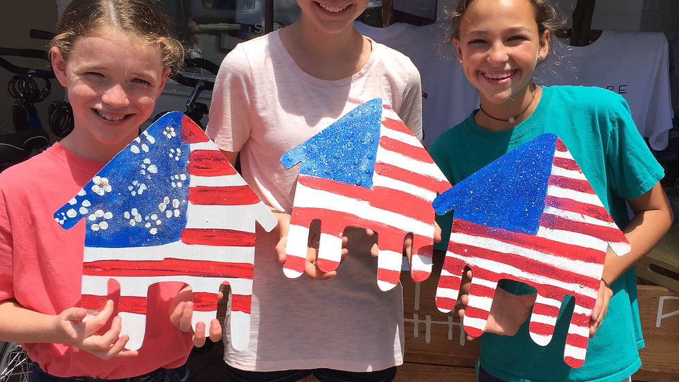 Open Studio Day Camp - Patriotic Party         JULY 1