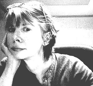 black and white profile photo