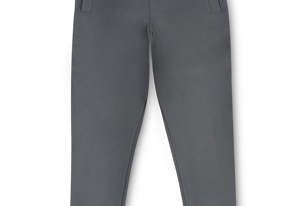 Essential Items Anchor Grey Sweatpants front view