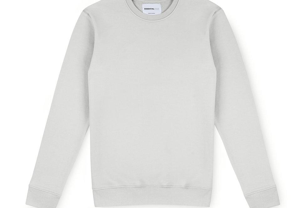 Essential Items Cloud Grey Sweatshirt front view