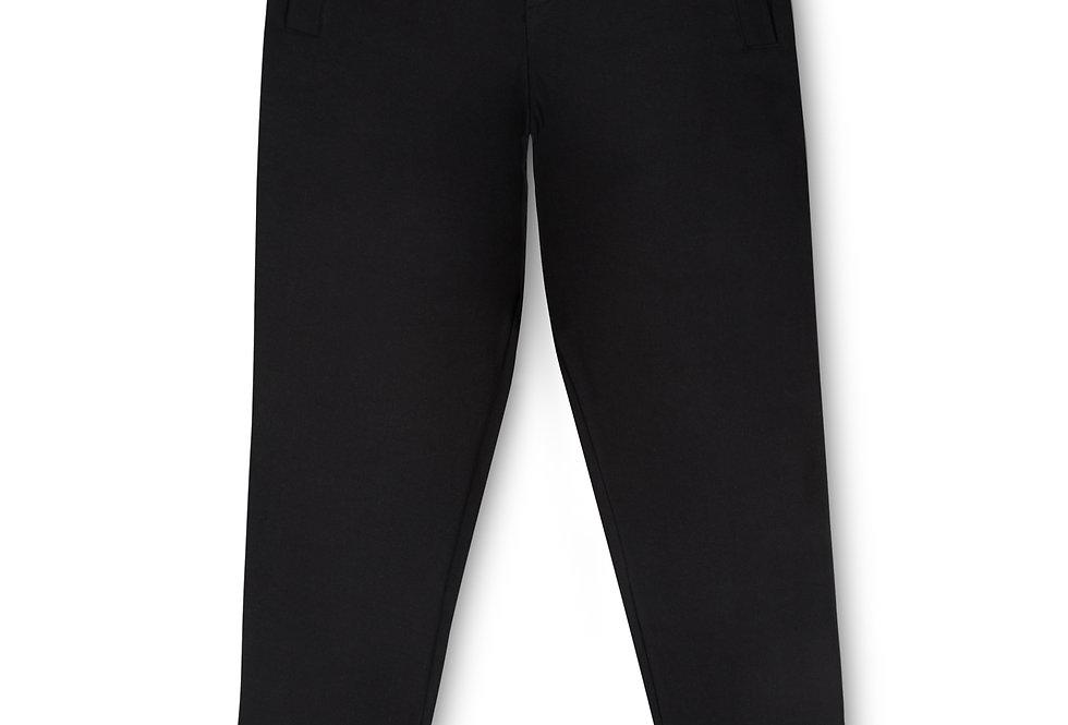 Essential Items Black Sweatpants front view