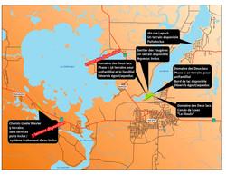 Localisation des projets 2021