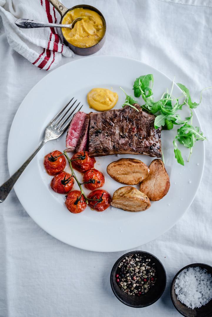 100% Grass Fed Steak Inspo