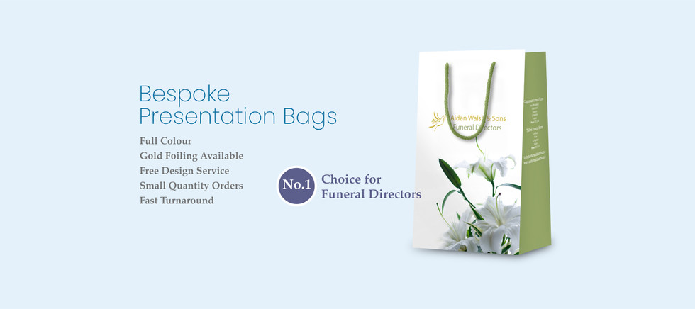 Bespoke Presentation Bags for Funeral Professionals
