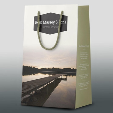 Rom Massey & Sons Urn Presentation Bag | Canfly Marketing