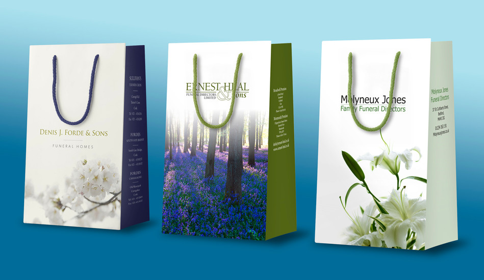 Professional Branded Urn Bags for Funeral Professionals   Canfly Marketing