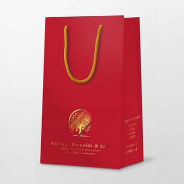 Gavin Reynolds FD Urn Presentation Bag | Canfly Marketing