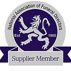 National Association of Funeral Directors Supplier Member Logo | Canfly Marketing