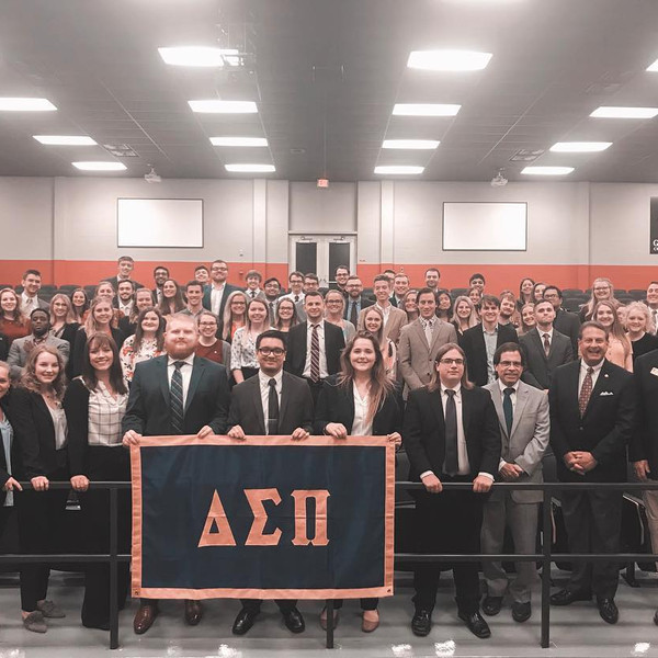 Spring 2019 Initiation. We are so excited to welcome our new Brothers!