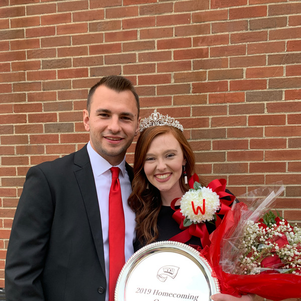 Our representative Allyson Taylor was crowned WKU's 2019 Football Homecoming Queen! We are so proud of her and so glad she is a part of the Zeta Theta chapter!