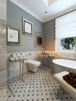 Bathrooms and tiling