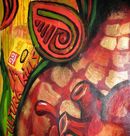 La Mujer de Maiz-detail 2