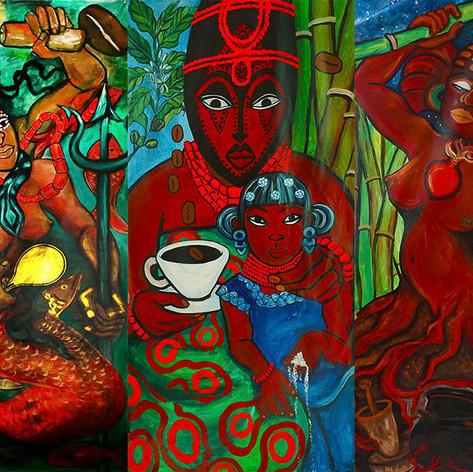 Raices: Las Madres Indigenas y Afrikanas