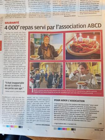 4000 repas servis