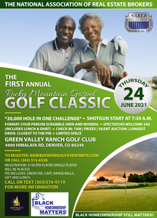 The National Association of Real Estate Brokers Golf Classic Flyer