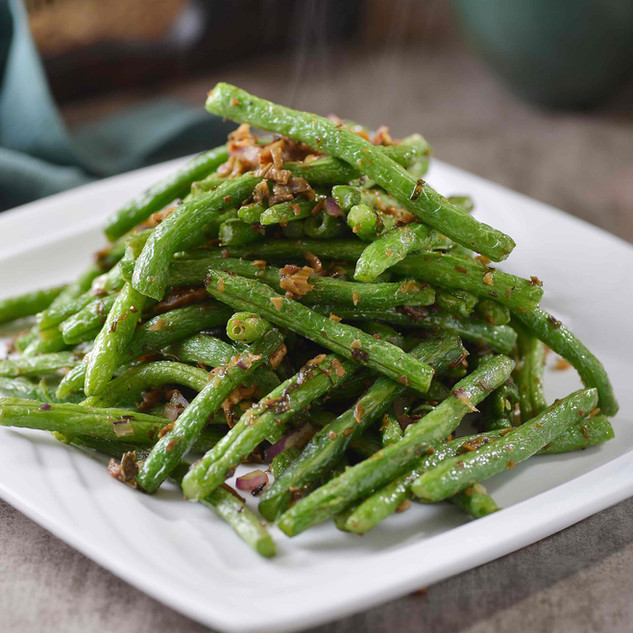 Dry-Fried Green Beans 干煸四季豆