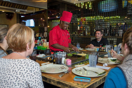 Volcano Steak & Sushi, Woodstock, GA
